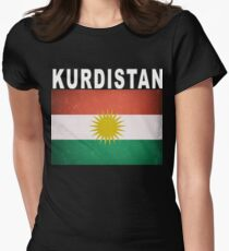 Kurdistan Independence Vote 2017 Women's Fitted T-Shirt