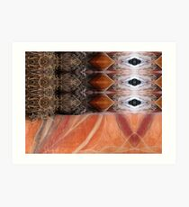 Pattern Series 17 Art Print