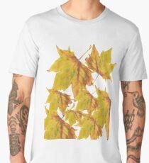 Autumn leaf; fallen leaf Men's Premium T-Shirt