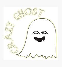 Crazy Ghost Photographic Print