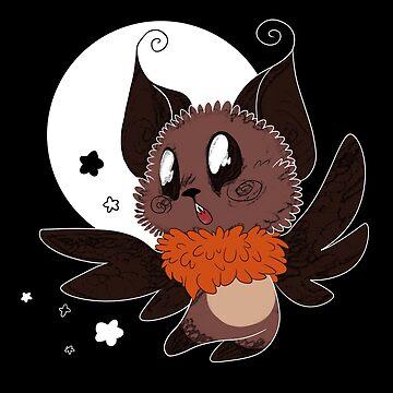 Fruit bat by MesmeroMania