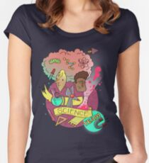 Science Team Women's Fitted Scoop T-Shirt