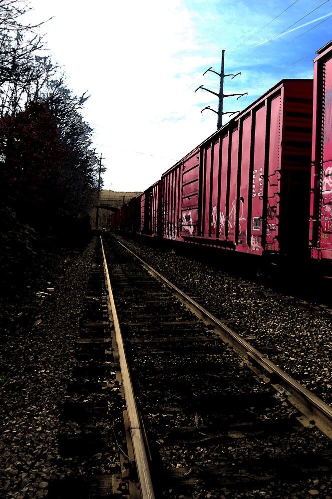 Train Cars by John Walsh