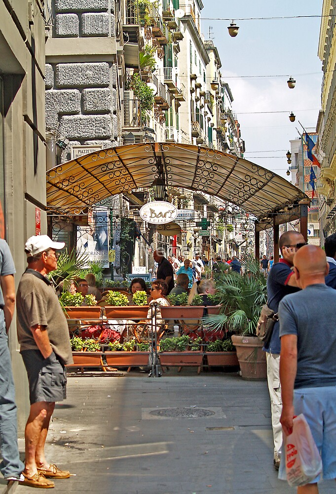 Street Side Cafe - Naples by Memaa