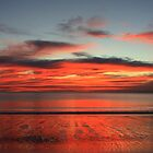 Reflections on the Sea and on the Sand by myraj
