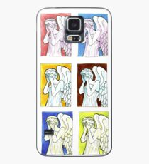 Weeping Angels Set Case/Skin for Samsung Galaxy