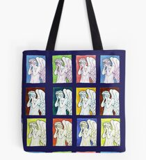 Weeping Angels Set Tote Bag