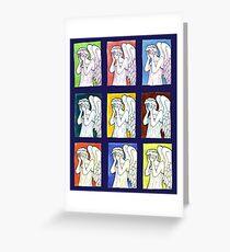 Weeping Angels Set Greeting Card