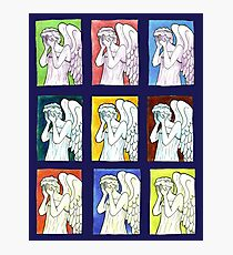 Weeping Angels Set Photographic Print