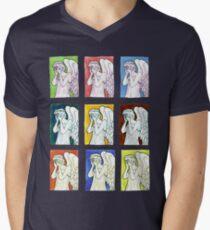 Weeping Angels Set Men's V-Neck T-Shirt