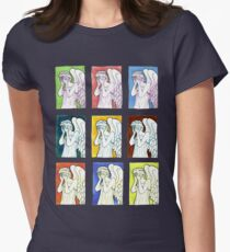 Weeping Angels Set Women's Fitted T-Shirt