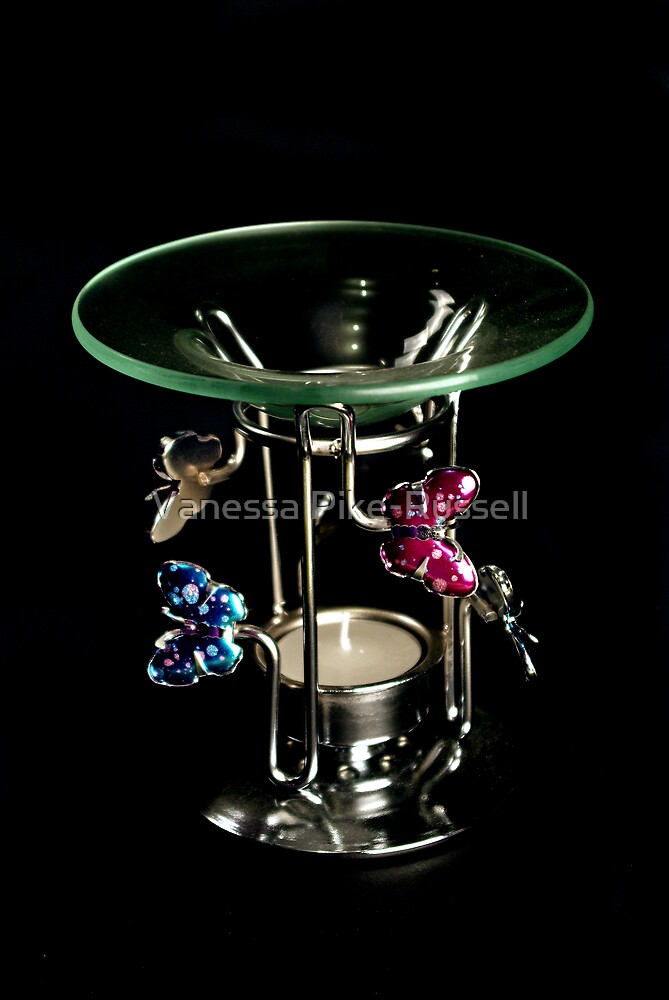 Butterfly oil burner by Vanessa Pike-Russell