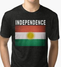 Kurdish Independence in 2017 Tri-blend T-Shirt