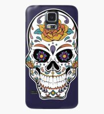 Dia de los Muertos Skull Art Case/Skin for Samsung Galaxy
