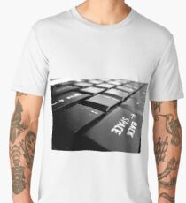 backspace keyboard office print Men's Premium T-Shirt