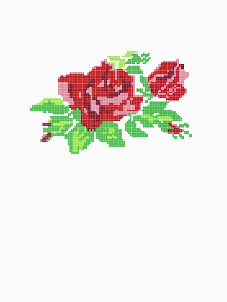 PIXEL ROSE (v.1) by GLOBEXIT