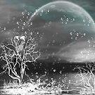 Raindrops keep falling on my head/ART + Product Design by haya1812