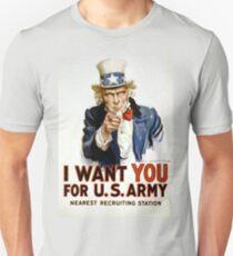 I Want You - Uncle Sam Unisex T-Shirt
