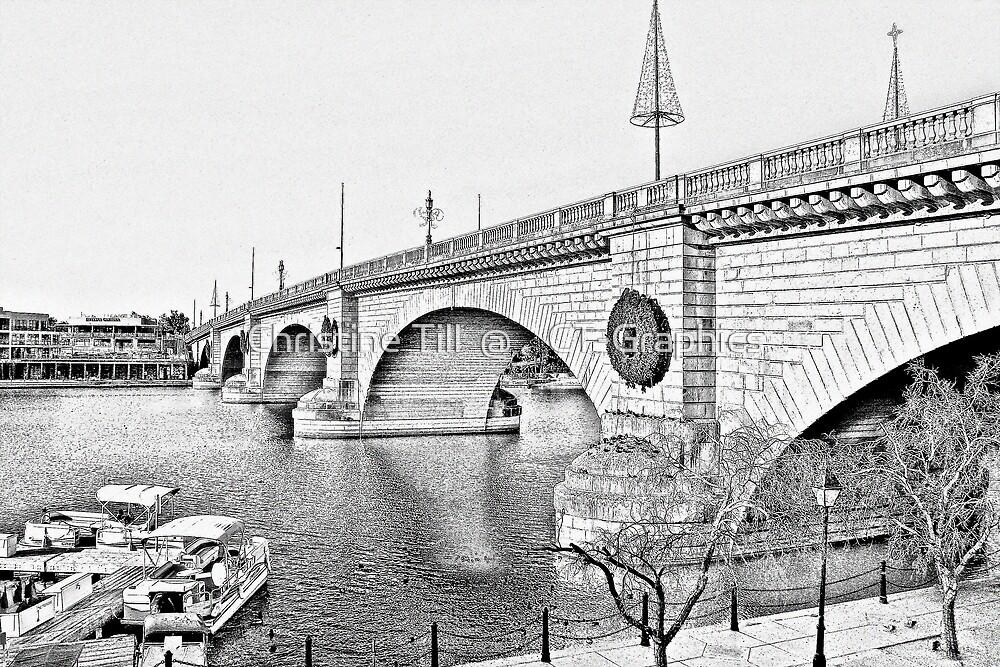 London Bridge, Lake Havasu City, Arizona  by Christine Till  @    CT-Graphics