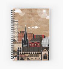 Brum Cityscape Spiral Notebook