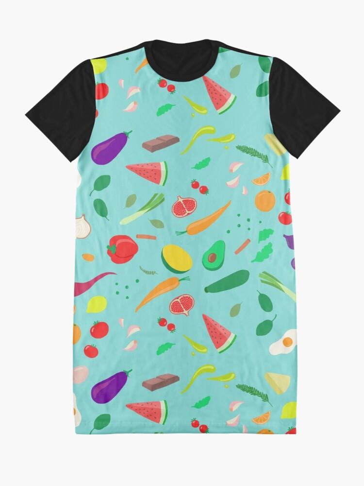 Alternative Ansicht von Mein Lieblingsessen T-Shirt Kleid