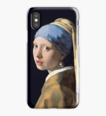 "Johannes Vermeer ""Girl with a Pearl Earring"" iPhone Case/Skin"