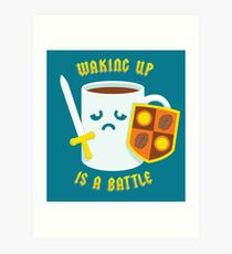 Morning Battle Art Print