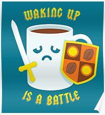 Morning Battle Poster