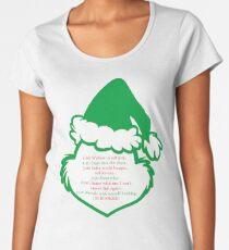 Grinch Schedule Women's Premium T-Shirt