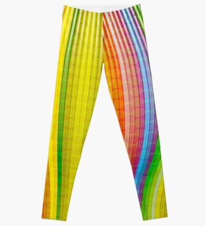 Striations Of Color Leggings