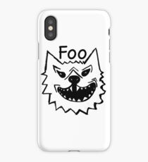FOO iPhone Case/Skin