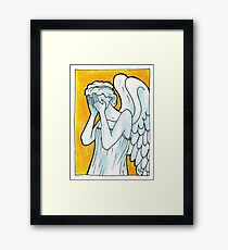 Weeping Angel 1 Framed Print