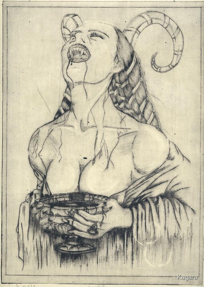 Demon witch by Kagara