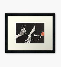 Food Medicine Framed Print
