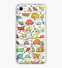 50 Dinos iPhone Case/Skin