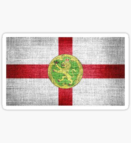 Alderney Flag Sticker