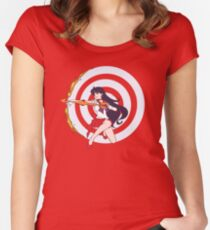 Flame Sniper Women's Fitted Scoop T-Shirt