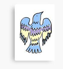 layer bird Canvas Print
