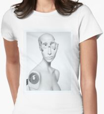 Portrait Women's Fitted T-Shirt