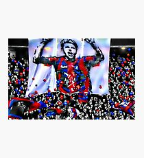 Past Heroes Draped in Colour Photographic Print