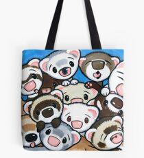 16 Ferrets Tote Bag
