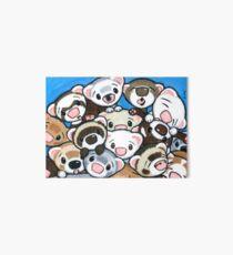16 Ferrets Art Board