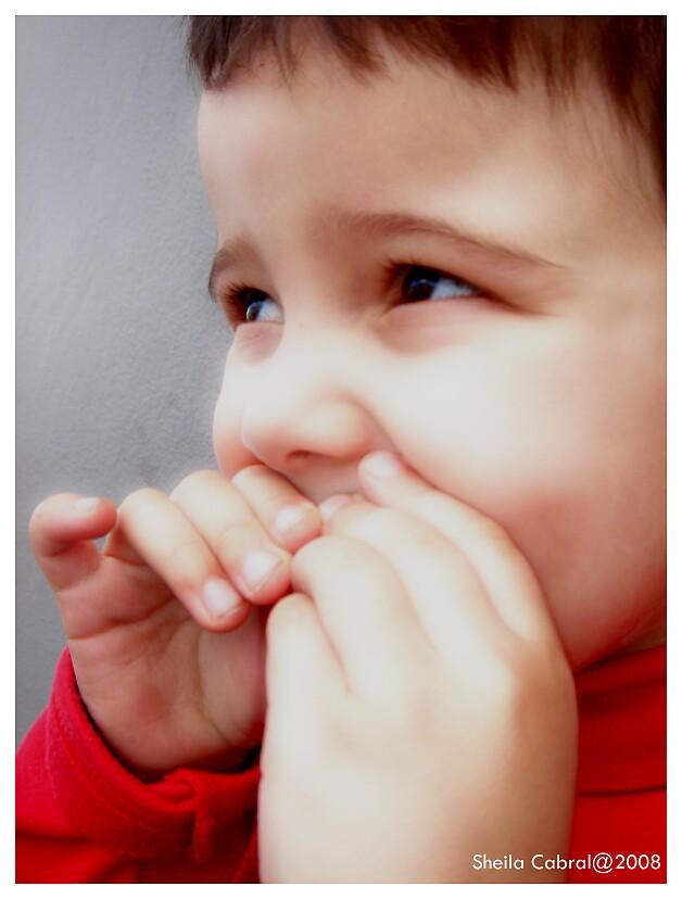 Um olhar de criança... by Boboletah