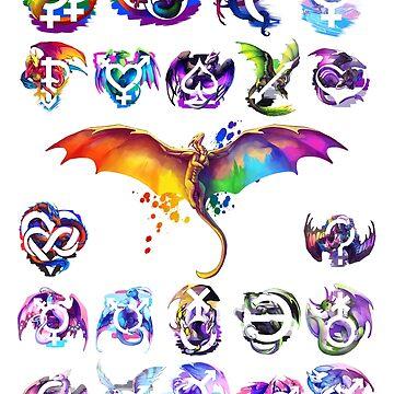 Pride Dragons - Version One de kaenith