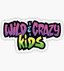 Wild and Crazy Sticker