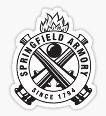 Springfield Armory Firearms Sticker