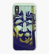Striped Mask iPhone Case
