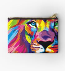 Lion Pride Zipper Pouch