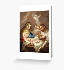 La Natividad The Nativity Greeting Card