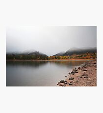 Lake Dillon in Fall #1 Photographic Print